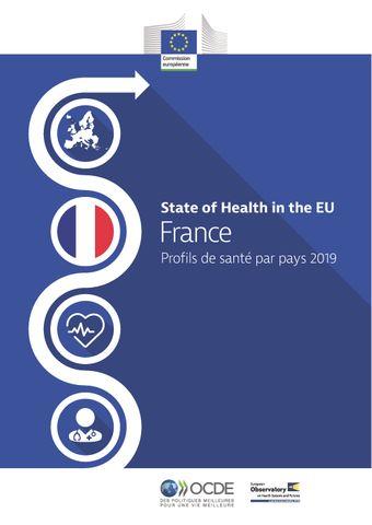 Couverture de publication - France : Profils de santé par pays 2019