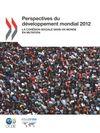 image of Perspectives du développement mondial 2012