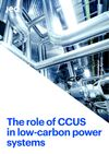image of The role of CCUS in low-carbon power systems