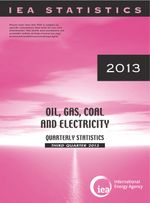 Oil, Gas Coal and Electricity Quarterly Statistics: Third Quarter 2013