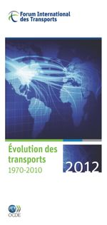 �volution des transports 2012