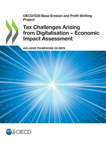 Publication Cover - Tax Challenges Arising from Digitalisation – Economic Impact Assessment