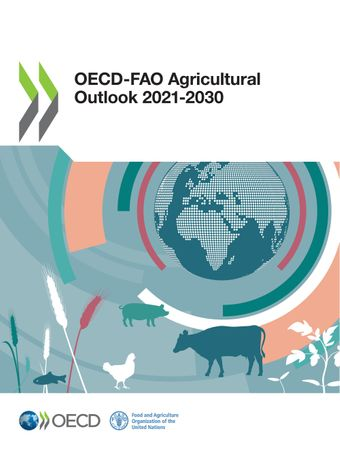 Publication Cover - OECD-FAO Agricultural Outlook 2021-2030