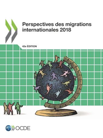Couverture de publication - Perspectives des migrations internationales 2018