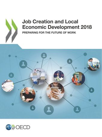 Publication Cover - Job Creation and Local Economic Development 2018