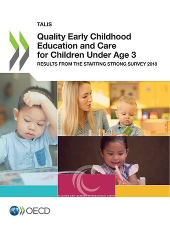 Publication Cover - Quality Early Childhood Education and Care for Children Under Age 3
