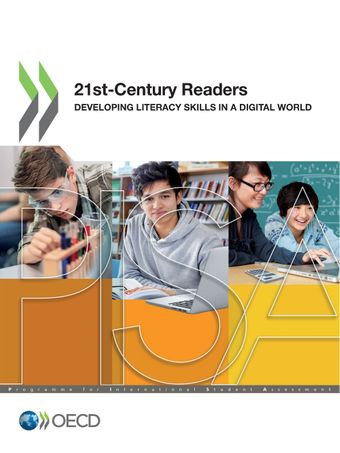 Publication Cover - 21st-Century Readers - Developing Literacy Skills in a Digital World