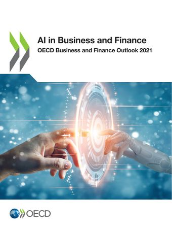 Publication Cover - OECD Business and Finance Outlook 2021 - AI in Business and Finance