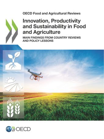 Publication Cover - Innovation, Productivity and Sustainability in Food and Agriculture