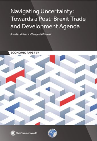 Publication Cover - Emerging Trade Issues for Small Developing Countries - Scrutinising the Horizon
