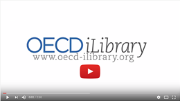 Click to run video about OECD iLibrary on Youtube